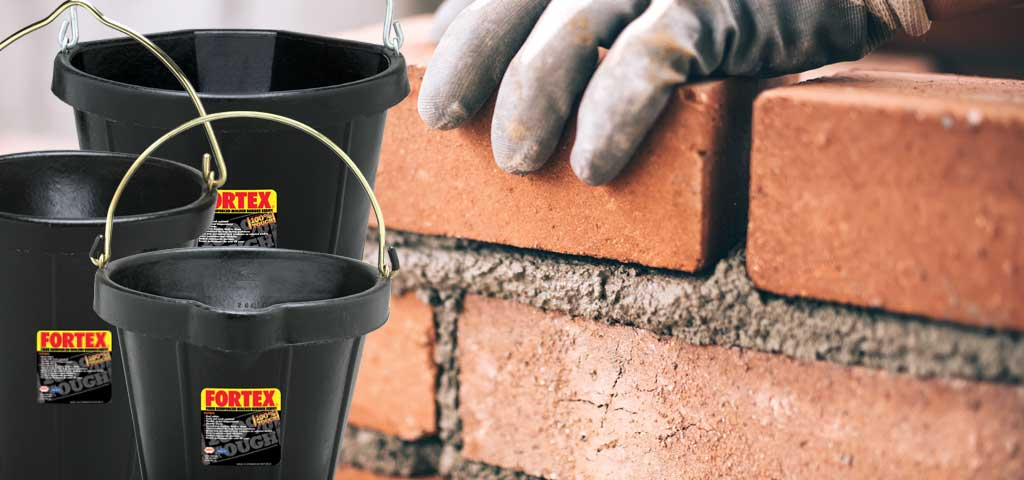 Page Banner for Rubber Products with Bricklayer background